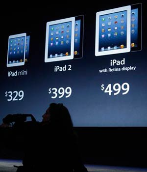 Apple unveils iPad's 'Mini' sibling