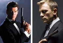The name's Bond, James Bond: Actors who played Bond on screen