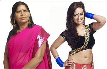 Sampat Pal and Sana Khan