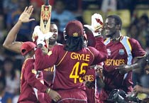 West Indies vs New Zealand T20 world Cup photos