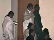 Big B, Shah Rukh Khan at Yash Chopra's prayer meet