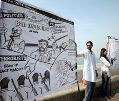 Cartoon war on terror