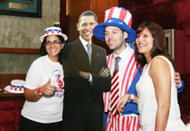US Consulate in Mumbai celebrate Obama's victory