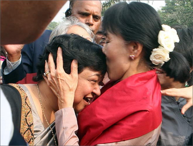 Aung San Suu Kyi at Lady Shri Ram College, Aung San Suu Kyi, Aung San Suu Kyi in India