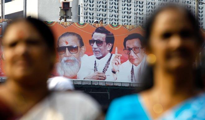 Shiv Sena supporters