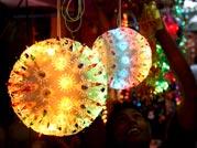 Chinese lights flood markets ahead of Diwali festival
