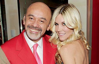 Christian Louboutin and Tinsely Mortimer