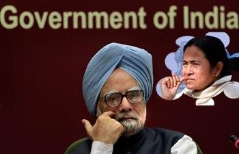 Manmohan Singh and Mamata Banerjee