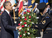 US celebrates Veterans Day: Obama leads nation in saluting war heroes