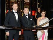 Gerard, Kajol inaugurate Robert Dubuis' store in Dubai