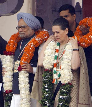 In pics: Thousands of Congress supporters congregate at its mega rally