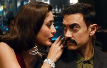 Join us for a sneak peak into Aamir Khan's forthcoming mystery thriller where he plays a cop, Surjan Singh Shekhawat, flanked by two leading ladies - Rani Mukerji and Kareena Kapoor.