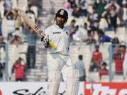 The Master's stroke: Sachin Tendulkar gets a half-century