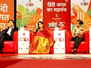 Small screen stars take centre stage at Agenda Aaj Tak