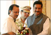 NCP leader Ajit Pawar sworn-in as Deputy Chief Minister of Maharashtra