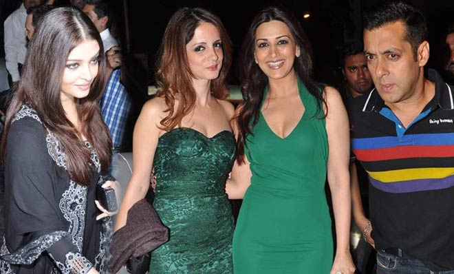 Celebs at Anu and Sunny Dewan's party