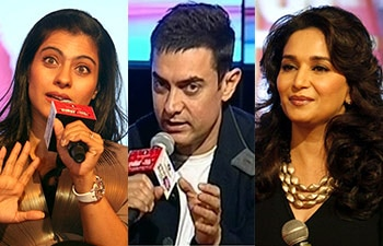Aamir Khan, Kajol, Madhuri Dixit spoke their mind at Agenda Aaj Tak 2012.