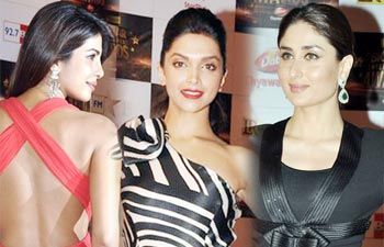 Bollywood beauties at Big Star Awards