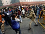 Police use tear gas, water cannons against Delhi gangrape protesters