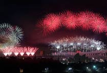Celebrations in Sydney to mark New Year 2013 with huge fireworks display