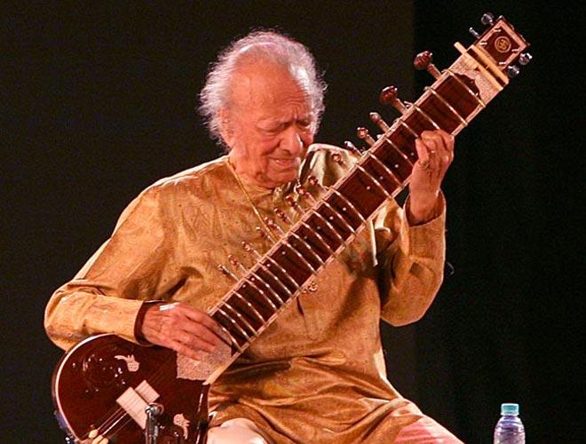 Sitar maestro Pandit Ravi Shankar