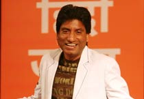 Raju Srivastava entertains audience at Agenda Aaj Tak 2012