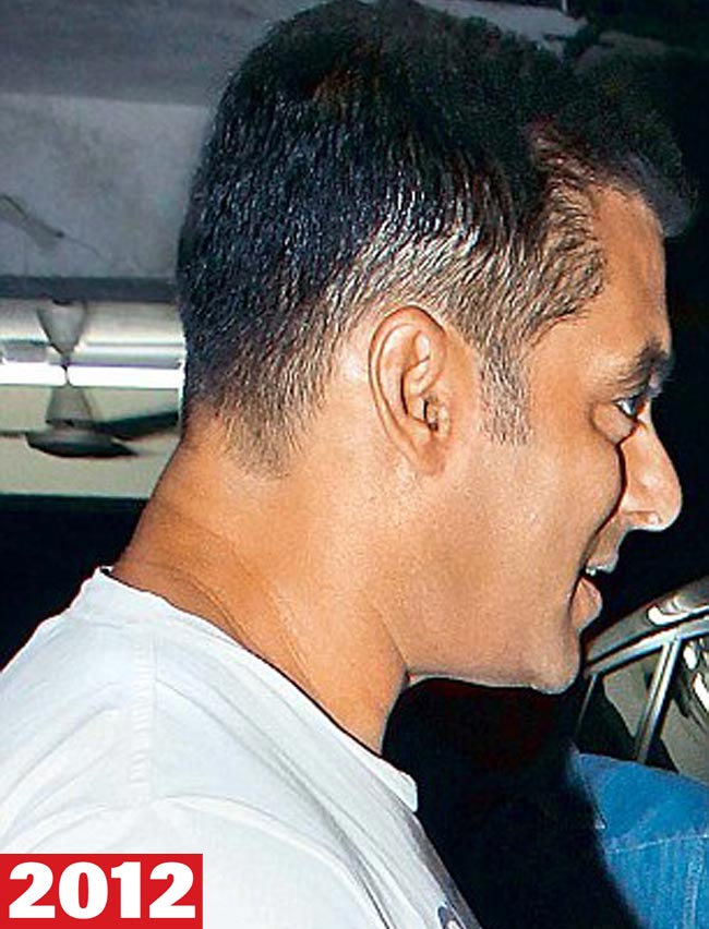 Salman Khans Ever Changing Hairdos Indiatoday