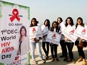 Medscape India organised an awareness rally on World AIDS Day in Mumbai on Saturday, December 1, 2012.