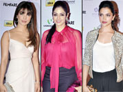 Bollywood divas at Filmfare bash