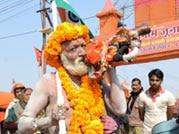 Paush Poornima celebrated with great fervour at Maha Kumbh Mela 2013
