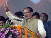 Shivraj Chouhan gives a thumbs up to youth power at Yuva Panchayat