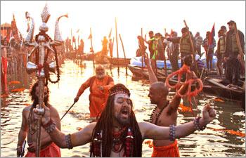 Mahakumbh Devotees