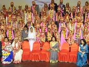 United in holy matrimony: 101 couples tie the nuptial knot in Lucknow mass marriage ceremony