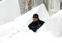 US besieged by monster storm: Massive blizzard blankets Northeast