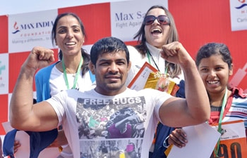 Sushil Kumar, Asian Wrestling Championships, Max Healthcare, Cancer survivors sports meet