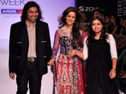 Bollywood celebrates rural India with designer Vikram Phadnis at Lakme Fashion Week
