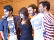 Priyanka, Ranveer and Arjun promote Gunday