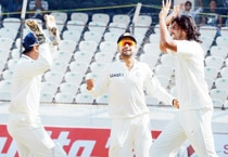 India beat Australia by an innings in the second Test in Hyderabad