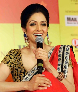 Bollywood actor Sridevi talks about movies and motivation and what she's learnt along the way.
