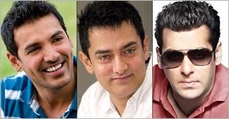 John, Aamir & Salman Khan