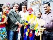 Rambo Circus Act II entertained one and all on World Circus Day celebrated at Prithvi Theatre.