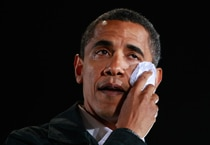 What makes Obama cry? Many faces of a tearful President