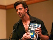 Hrithik Roshan launches a fitness book