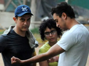 Aamir Khan's day out with son Azad and family