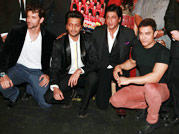 Aamir, SRK & Hrithik at the music launch of Yamla Pagla Deewana 2