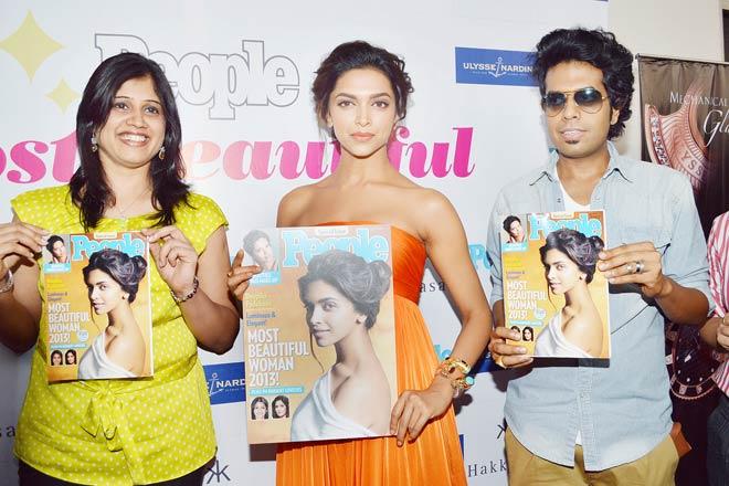 Deepika named India's Most Beautiful Woman