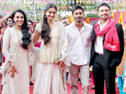 When Sonam, Dhanush made entry on a chariot!