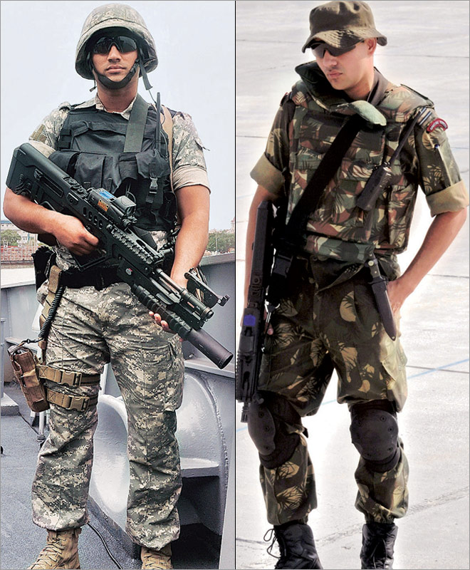 dressed to fight eight combat uniforms of india s men in action