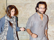 Saif, Kareena at Go Goa Gone special screening