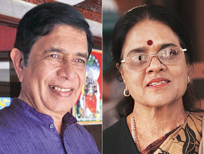 Oscar Fernandes and Girija Vyas